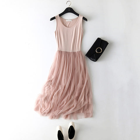 Tank Dress Basic Sundress Party - Recon Fashion