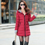 women winter hooded warm coat - Recon Fashion