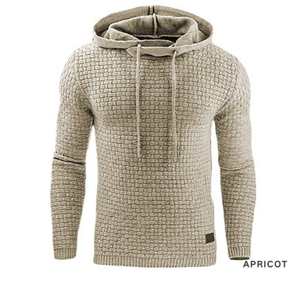 Long Sleeve Solid Color Hooded - Recon Fashion