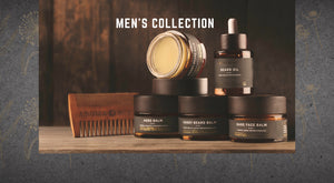AromaBuff Men's All Natural Grooming Collection