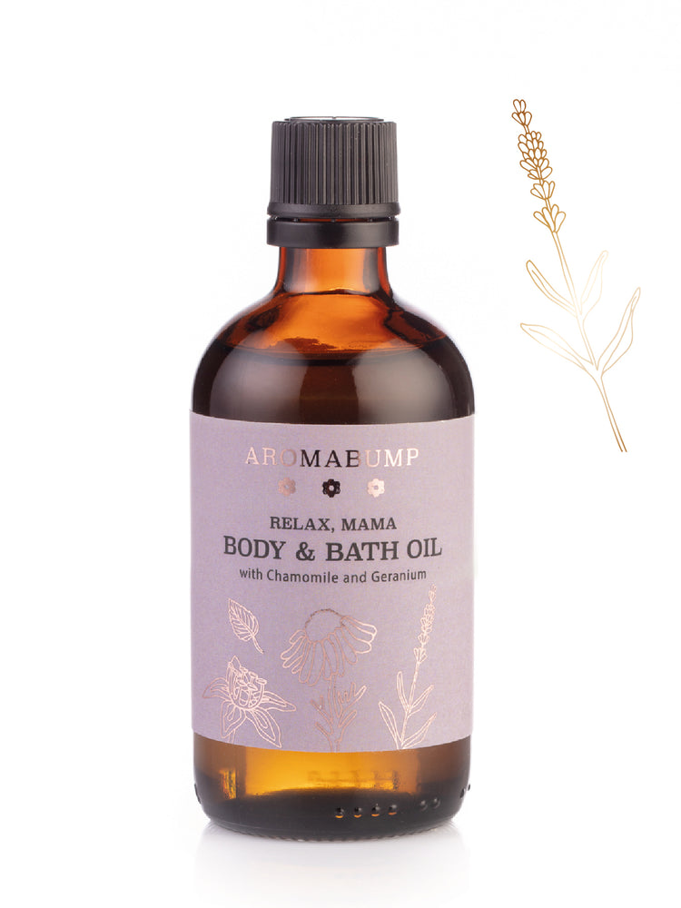 Load image into Gallery viewer, AromaBump Relax, Mama Body & Bath Oil 100ml