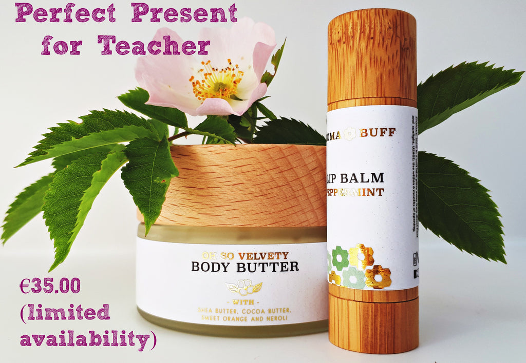 Perfect Teacher Present - Body Butter and Lip Balm