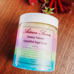 Dreamy Unicorn Sugar Scrub