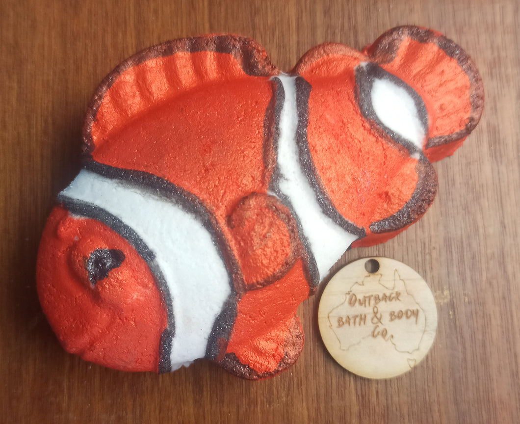 Clown Fish Bath Bomb