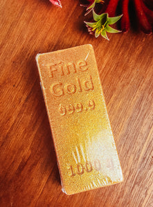 Gold Bar Bath Bomb