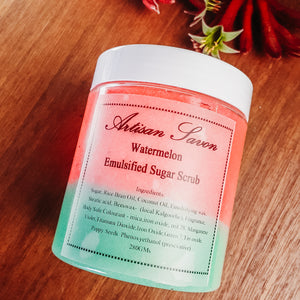 Watermelon Splash Emulsified Sugar Scrub