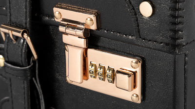 How to change the 3 password combination locks?