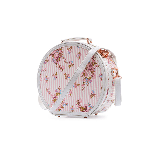 WildFloral Hat Box - Pink Floral's - COTRUNKAGE