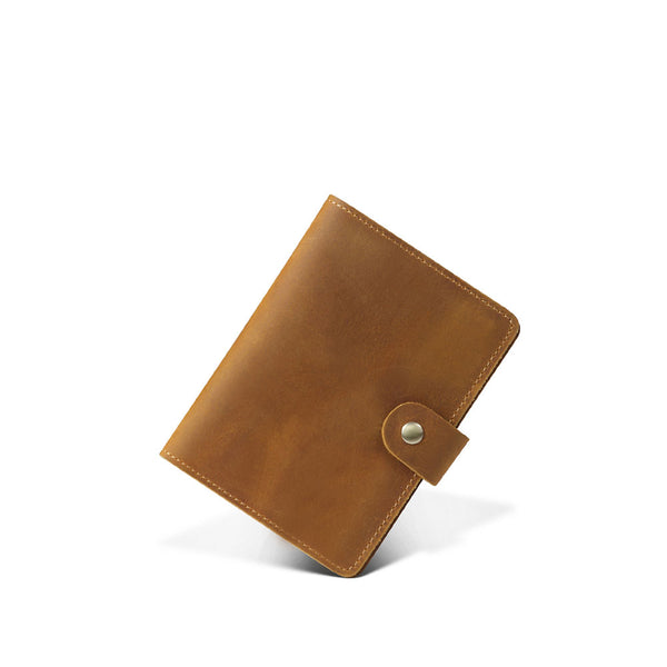 Oxleaz - Passport Holder - Brown - COTRUNKAGE