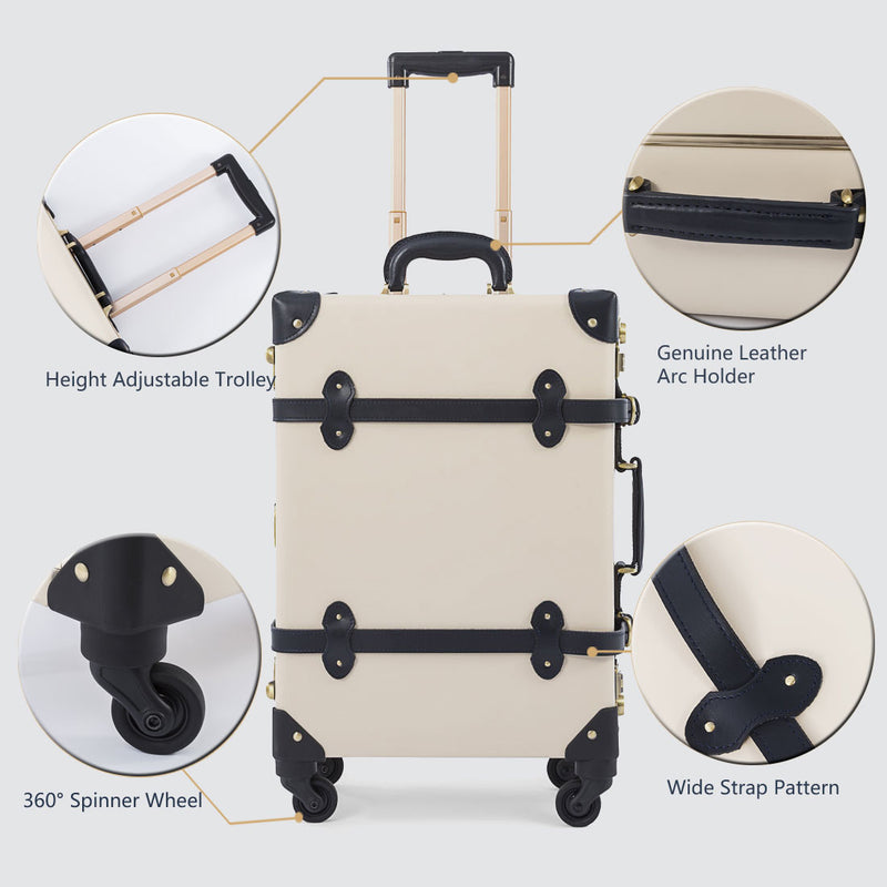 Ascetic Carry Ons - Pearl White's