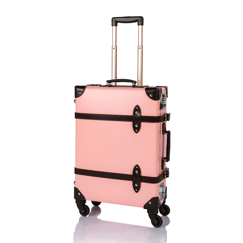 Aristocratic Carry Ons - Pink/Brown - COTRUNKAGE