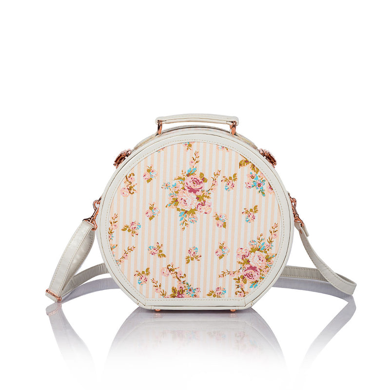 WildFloral Hat Box - Beige Floral's