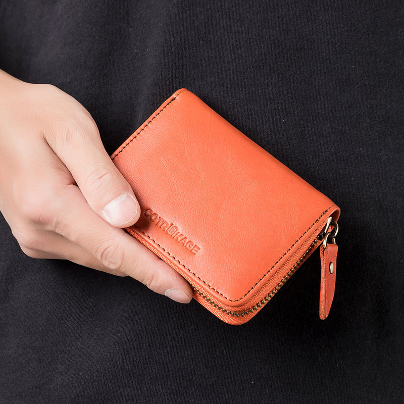 Credit Card Holder - Orange - COTRUNKAGE