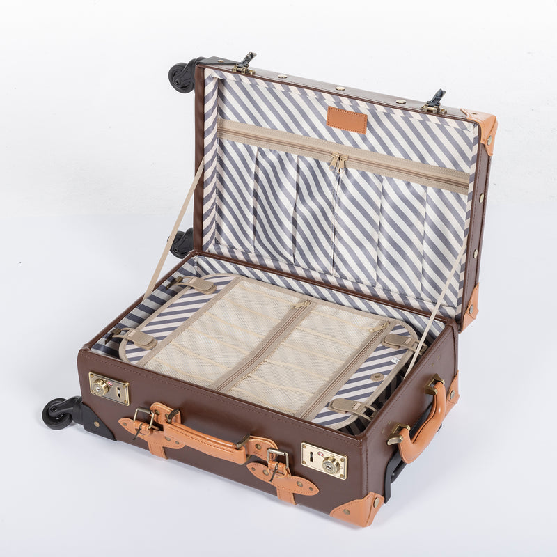 Classic Carry Ons - Light Grey's - TSA - COTRUNKAGE