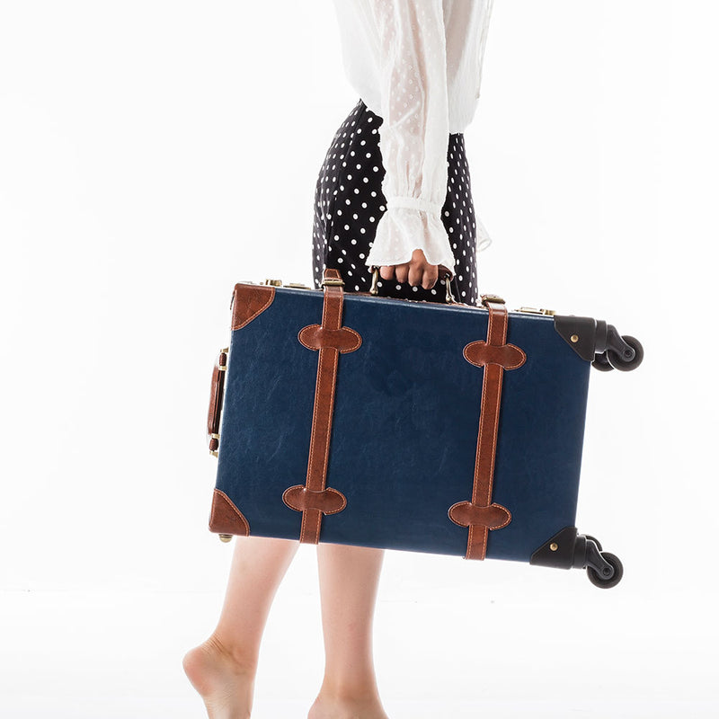 SarahFace Carry Ons - Navy Blue's - COTRUNKAGE