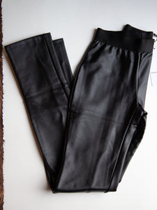 Vegan Leather Leggings