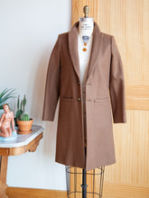 Emerson Fry tailored coat camel