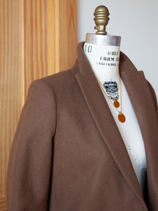 Tailored Coat Camel Wool