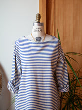 Sailor Dress French Blue Stripe