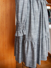 Bella Dress Chambray Dot