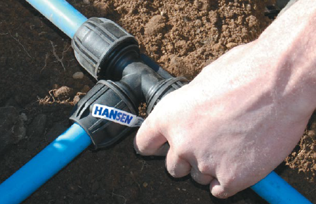 install instructions hansen compression fittings