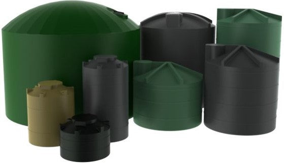 complete range of big water tanks, 300l, 500l, 600l, 800l, 1000l, 1500l, 2500l, 3500l, 5000l, 7500l, 10 000l, 5kl, 7.5kl, 10kl, 25kl, 30kl, 60kl, 30 000l, 60 000l, rural water tanks