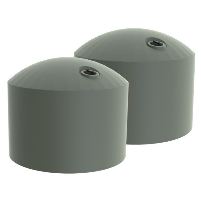 Light grey water tanks - 60000l