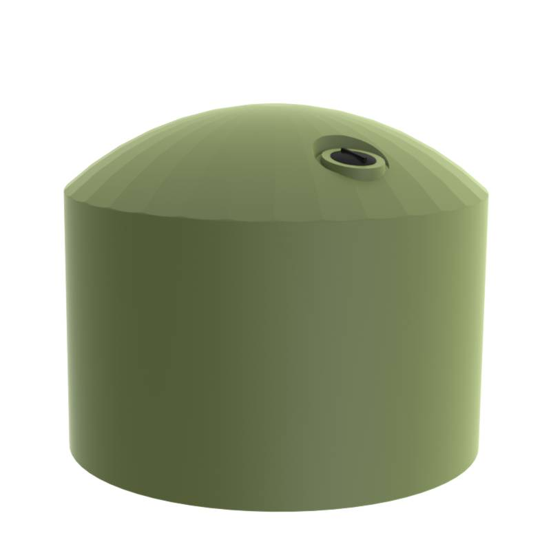 Mist Green 30000 litre water tanks