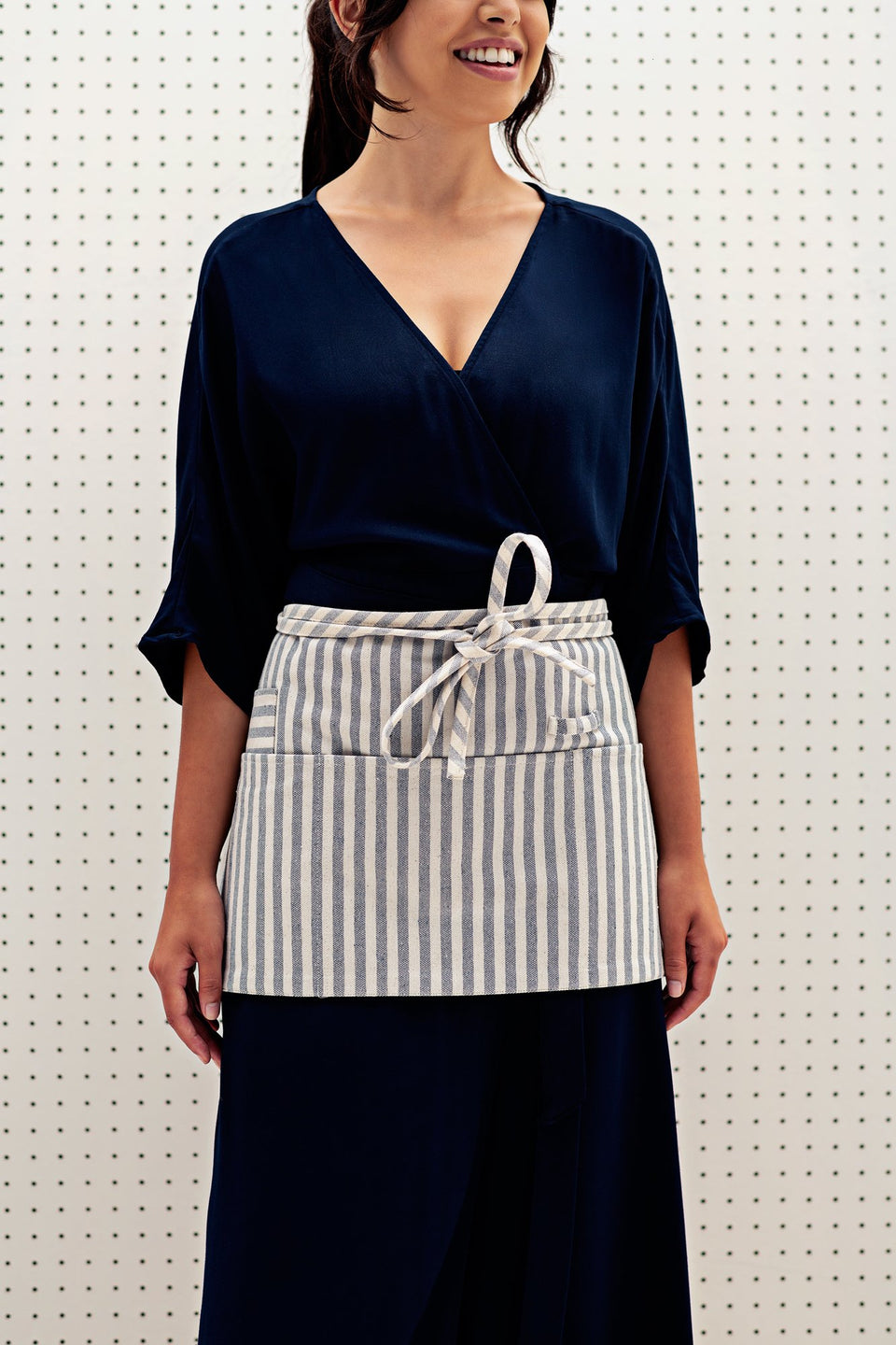 Waist Apron / Striped