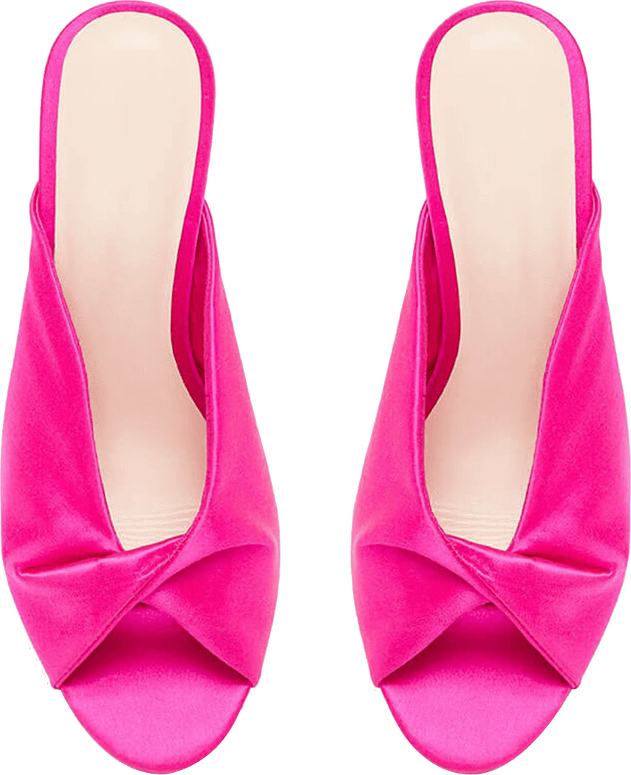 Do Bhai Women Pink Wedges