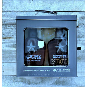 Garrison Brothers Gift Pack | Boot Flask & Estacado
