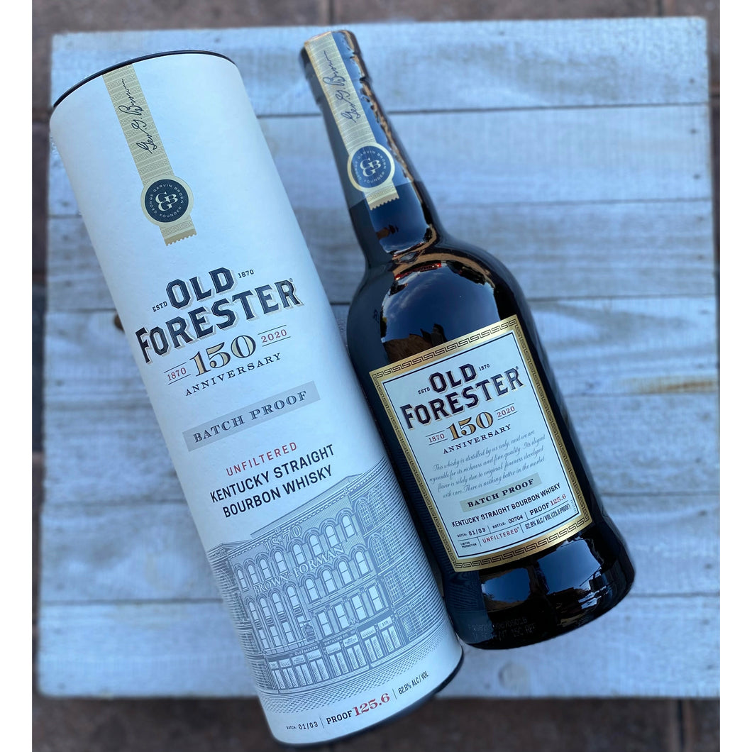 Old Forester | 150th Anniversary Bourbon | Batch 01/03 | Proof 125.6