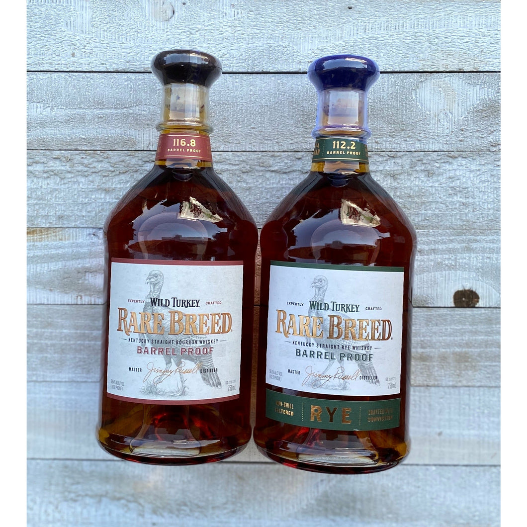 Wild Turkey Rare Breed 2-Pack Deal | Bourbon | Rye