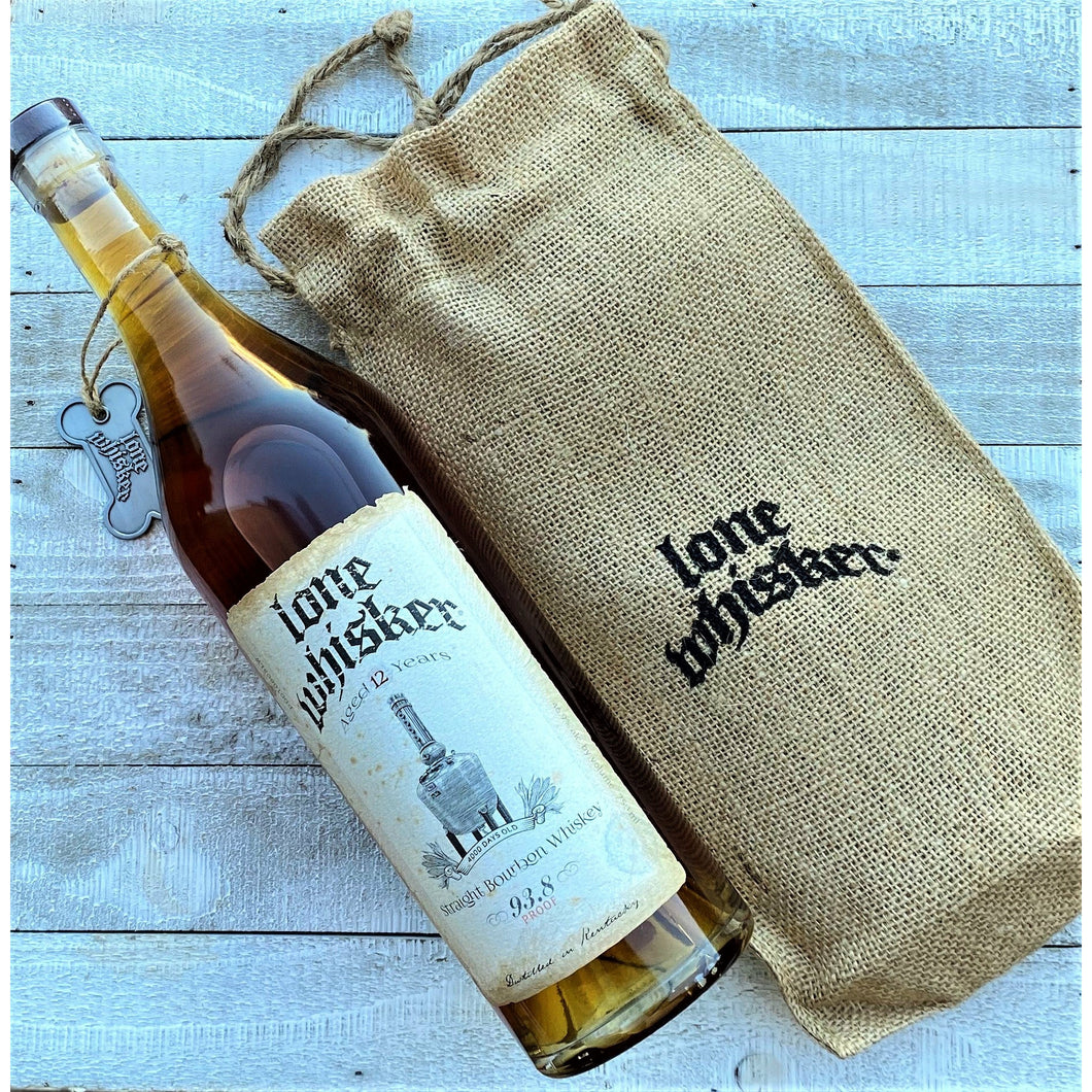 Lone Whisker | Straight Bourbon Whiskey | Aged 12 Years