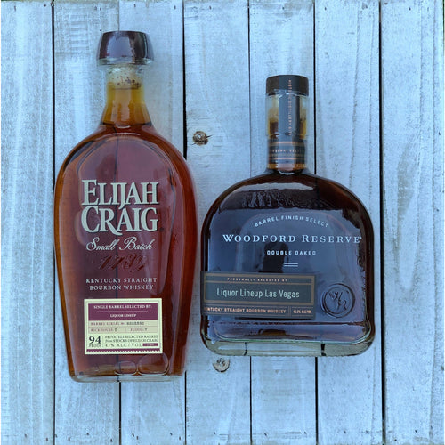 Store Pick Bourbon Gift 2-pack | Woodford Reserve Double Oaked | Eliah Craig Small Batch