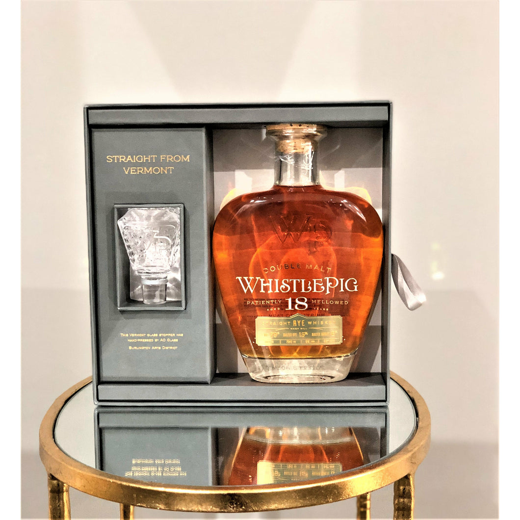 WhistlePig | 18 Year Aged | Straight Rye Whiskey