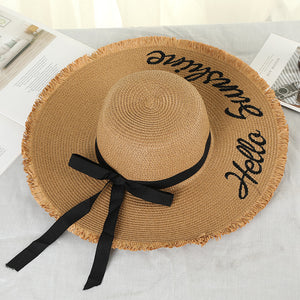 Beach Lace Up Hat