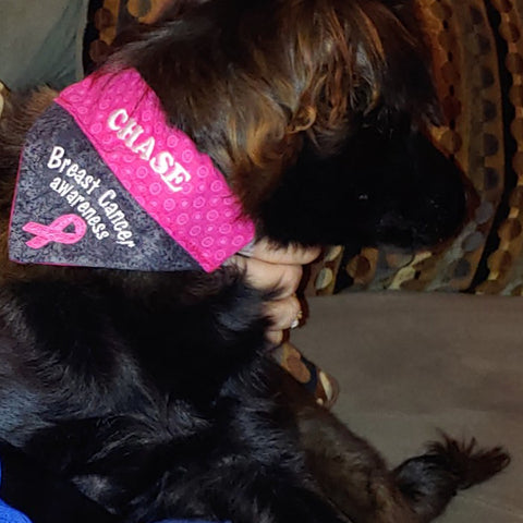 breast cancer bandana