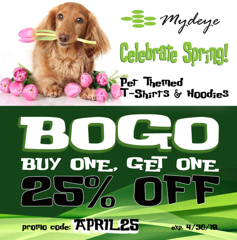 April Shower bring May Flowers BOGO 25% off sale!