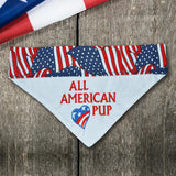 American Pup / Over the Collar Dog Bandana - Mydeye