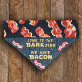 Come to the Bark Side We Have Bacon / Over the Collar Dog Collar - Mydeye