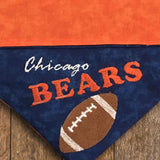 Chicago Bears / Over the Collar Dog Bandana - Mydeye