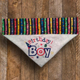 Birthday Boy / Over the Collar Dog Bandana - Mydeye