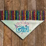 Birthday Girl / Over the Collar Dog Bandana - Mydeye