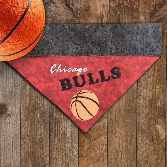 Chicago Bulls / Over the Collar Dog Bandana