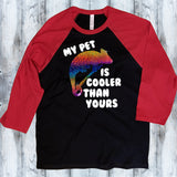 Chameleon - My Pet is Cooler than Yours 3/4 Sleeve Shirt