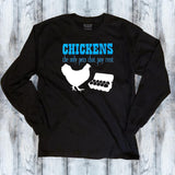 Chickens Pay Rent - Chicken Lover Shirt - Mydeye