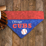 Chicago Cubs / Over the Collar Dog Bandana