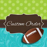 Custom Order Football Team Bandana