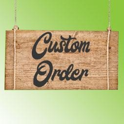 Custom Order Shirts - Create your own design!